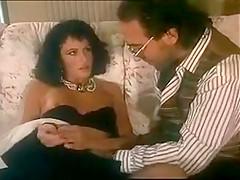 Italian retro hairy anal milf in stockings...