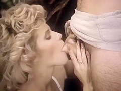 Hardcore with hairy pussy blonde by troc...
