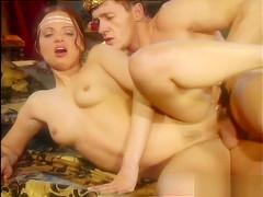 Tchanka and vanessa virgin having...