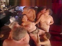 Older swingers group sex...
