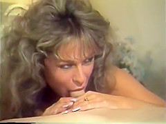 Cougar fucks two dudes in golden age media...